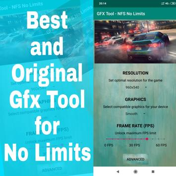 GFX Tool for NFS No Limits poster