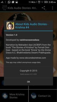 Kids Audio Stories -Krishna #1 screenshot 5