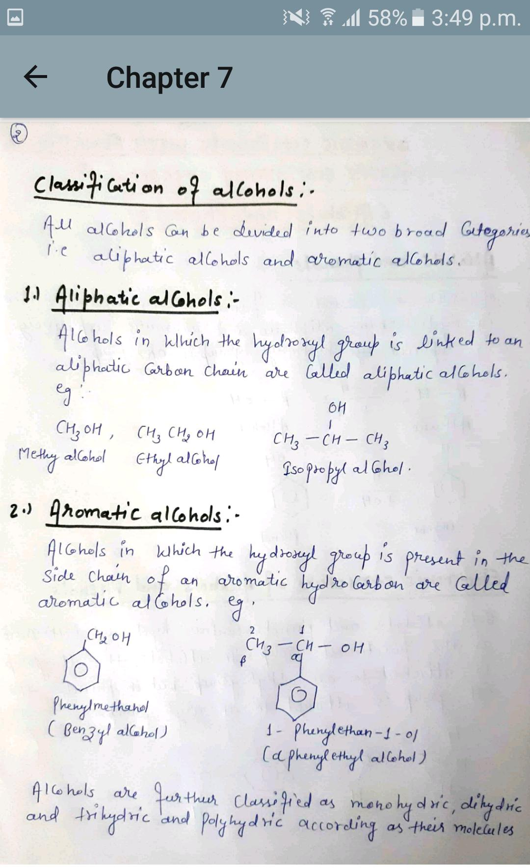 HandWritten 12th Chemistry Notes for Android - APK Download