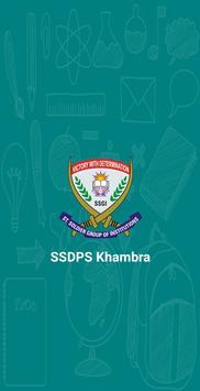 SSDPS Khambra poster