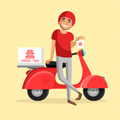 Food Order Delivery icon