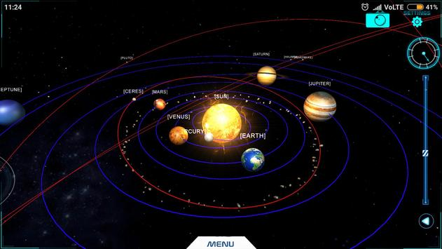 Spacewatch - A Solar System Explorer screenshot 1