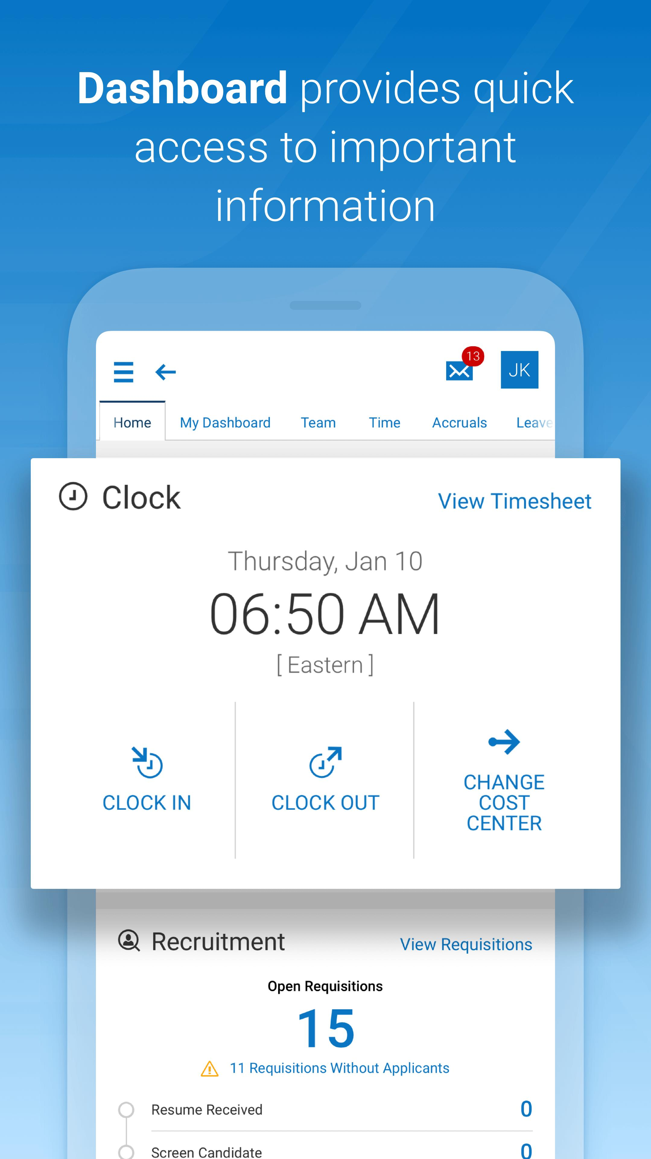 Kronos Workforce Ready Mobile for Android - APK Download