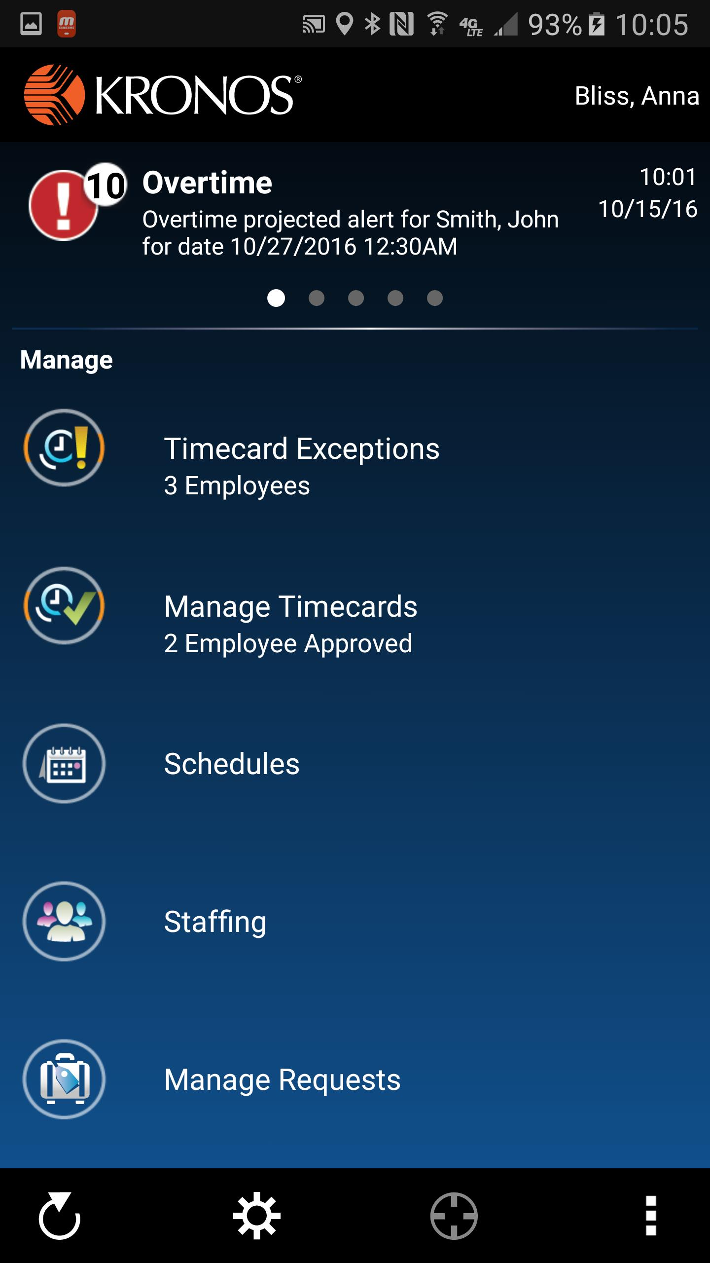 Kronos Mobile for Android - APK Download