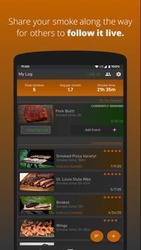 Smokin Log BBQ Journal скриншот 8