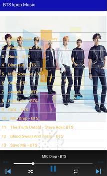 BTS kpop Music screenshot 1