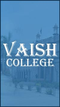 Vaish College poster