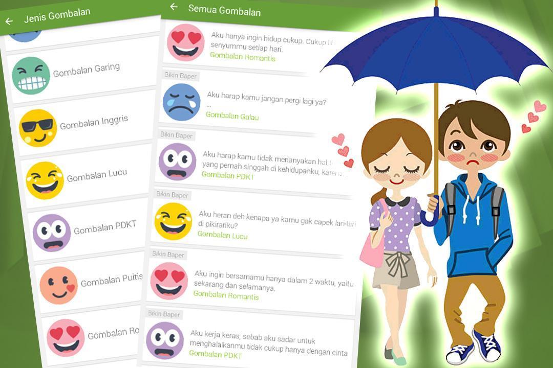 Gombalan Bikin Baper Für Android Apk Herunterladen