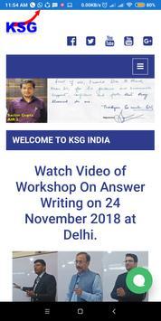 KSG India poster