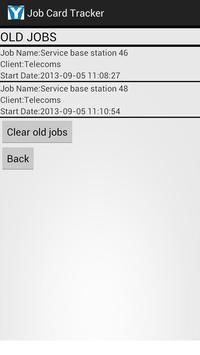 Job Card Tracker screenshot 3