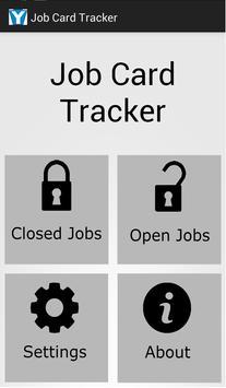 Job Card Tracker poster