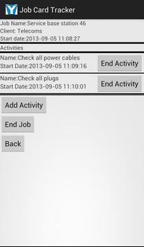 Job Card Tracker screenshot 2