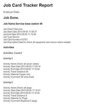Job Card Tracker screenshot 4