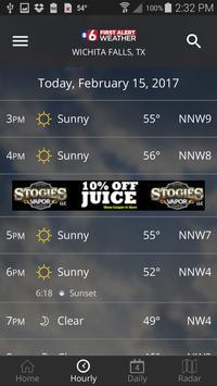 1 Schermata KSWO First Alert 7 Weather