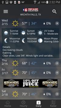 2 Schermata KSWO First Alert 7 Weather
