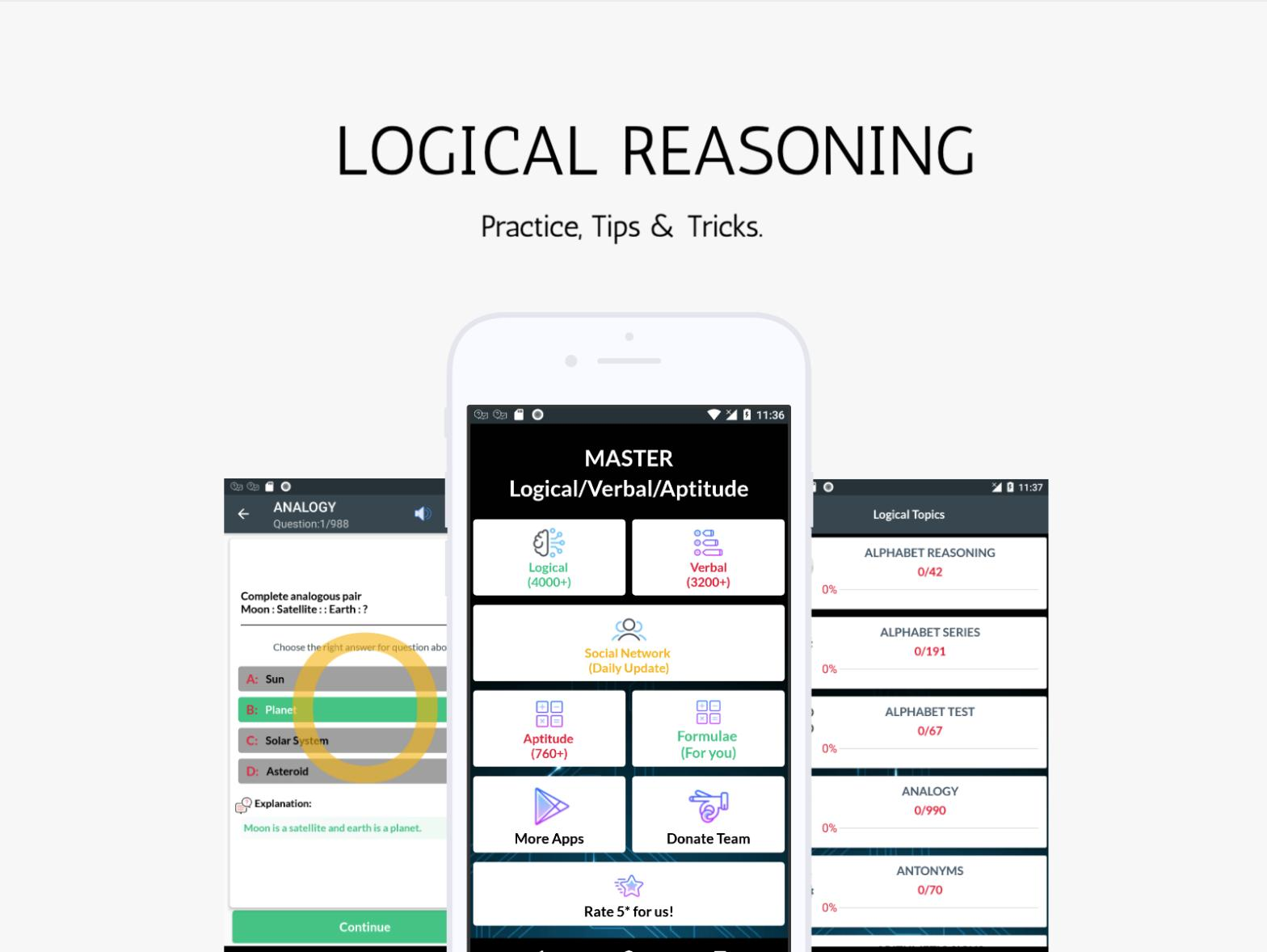 Logical Reasoning for Android - APK Download