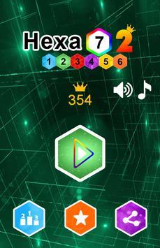"Hexa ""7"" - Block Puzzle 2 poster"