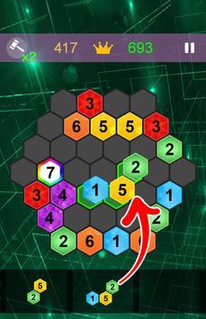 "Hexa ""7"" - Block Puzzle 2 screenshot 1"