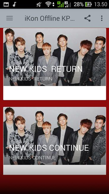 iKON Offline KPop_Song Complete cho Android - Tải về APK
