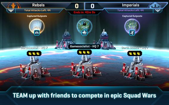 Star Wars™: Commander تصوير الشاشة 1