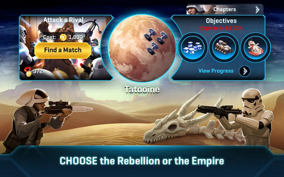 Star Wars™: Commander تصوير الشاشة 20