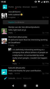 Subcafe screenshot 1