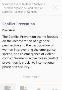Women, Peace & Security screenshot 2