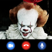 Pennywise Clown Video Call Simulator icon