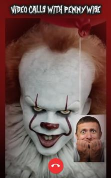 Pennywise Clown Video Call Simulator screenshot 2