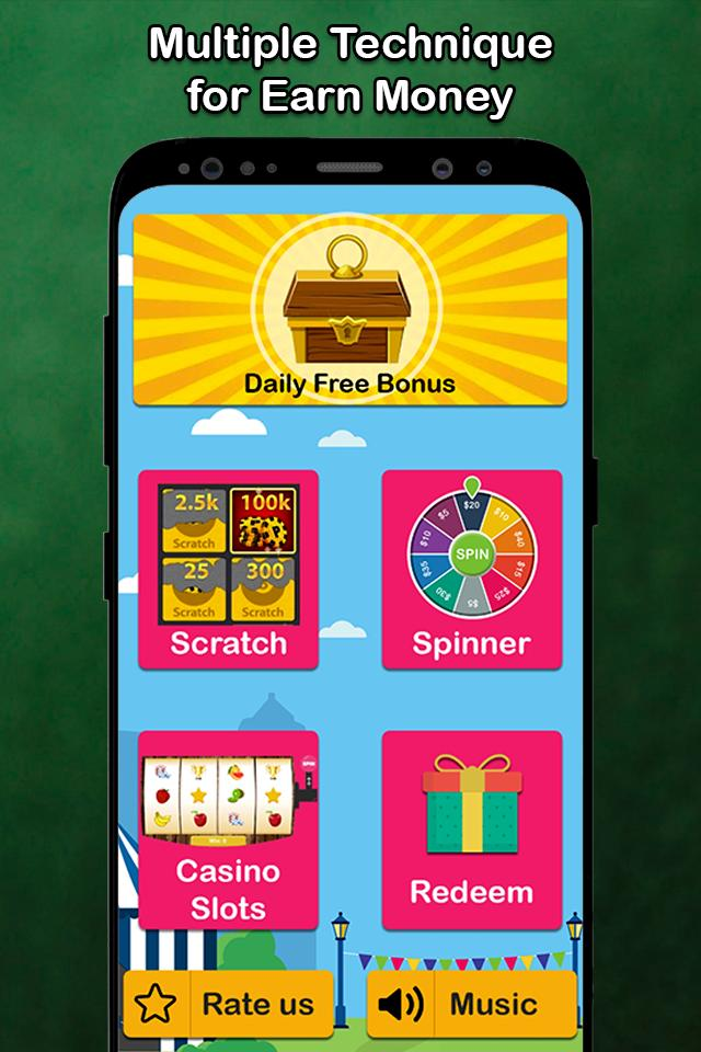 Lucky Spin Win Real Money For Android Apk Download