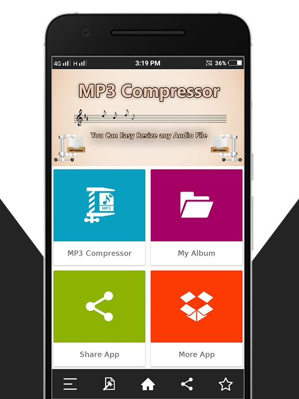 Audio : MP3 Compressor for Android - APK Download