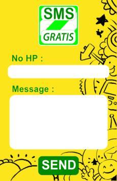 SMS Gratis Indonesia screenshot 1