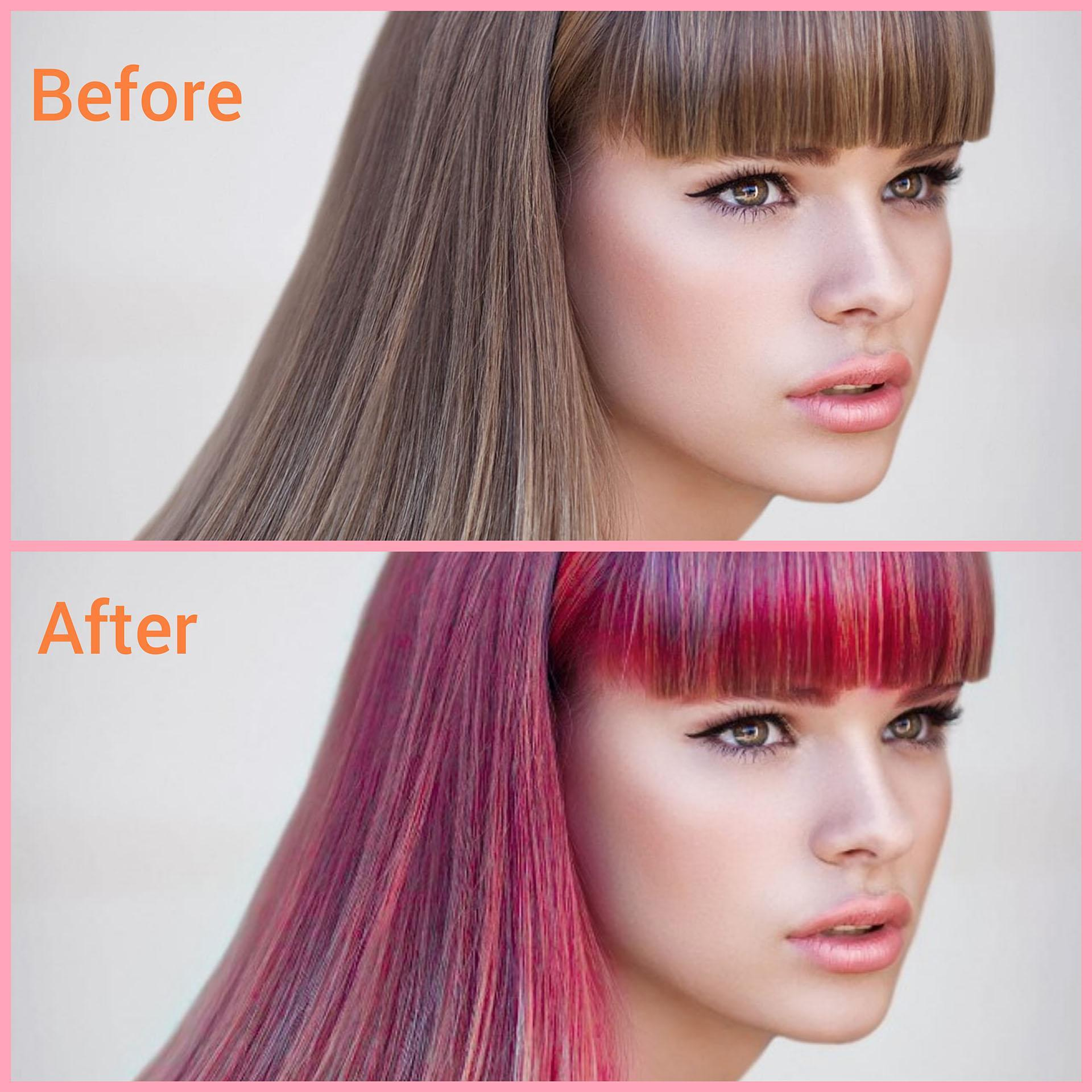 Hair Color Changer Try Different Hair Colors For Android Apk Download