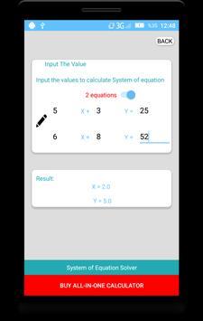 Equation Solver screenshot 5