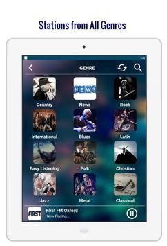 Radio England - ByteCast : UK Online Music News FM screenshot 7