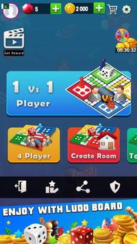 King of Ludo Dice Game with Free Voice Chat 2020 poster