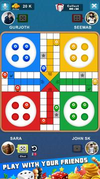 King of Ludo Dice Game with Free Voice Chat 2020 screenshot 1