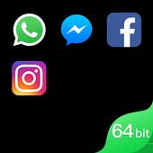 ikon Dual Space - Dukungan 64Bit