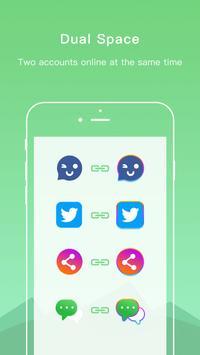 1 Schermata Dual Space - Multiple Accounts & App Cloner