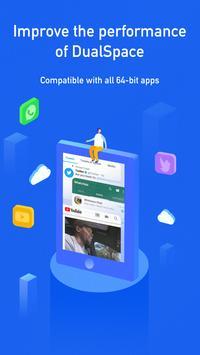 Multi Space 64Bit Helper - Dual Space Blue Plugin screenshot 1