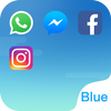 Dual Space - Multi Accounts & Fresh Blue Theme-icoon