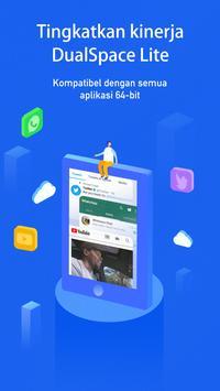 DualSpace Lite - Dukungan 64Bit screenshot 1