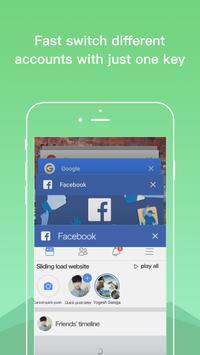 Dual Space Lite - Multiple Accounts & Clone App screenshot 5