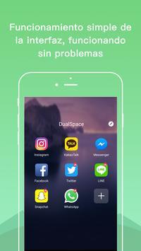 Dual Space Lite-cuenta múltiple y app de clonación Poster