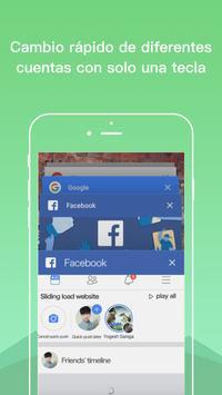 Dual Space Lite-cuenta múltiple y app de clonación captura de pantalla 5