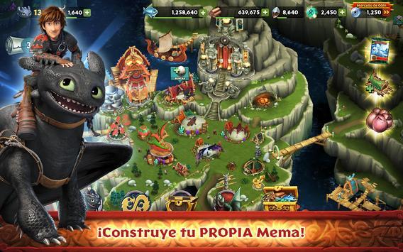 Dragones: El resurgir de Mema Poster