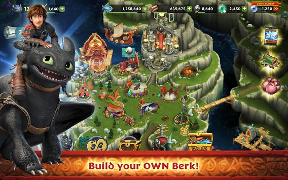 Dragons: Rise of Berk screenshot 14