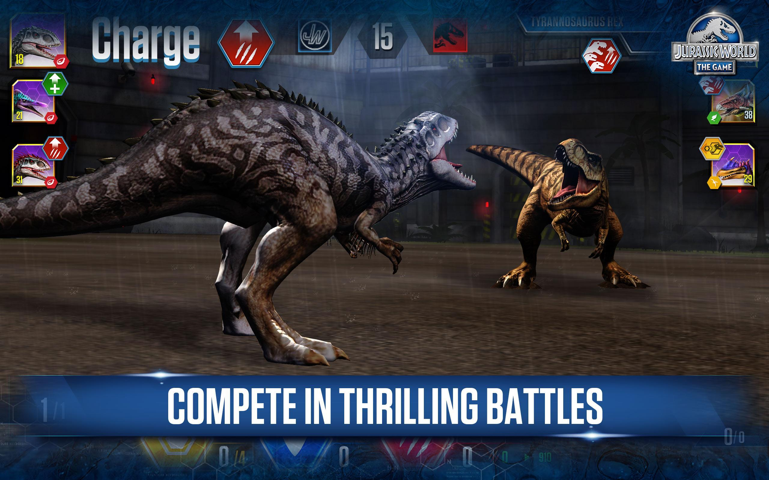 New Update Juracic World Roblox Jurassic World The Game For Android Apk Download