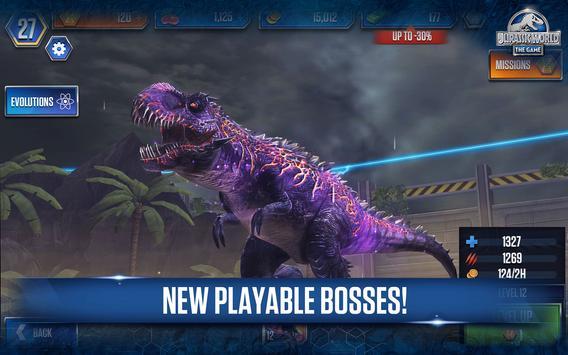 Jurassic World™: The Game plakat