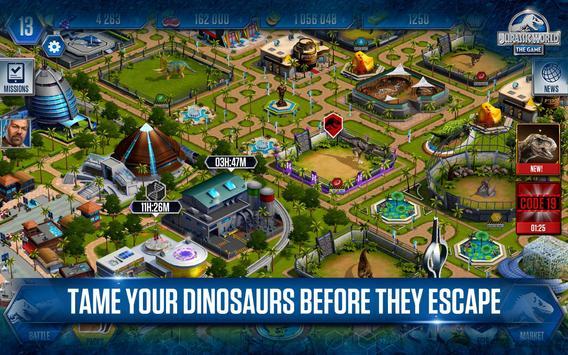 Jurassic World™: el juego captura de pantalla 14